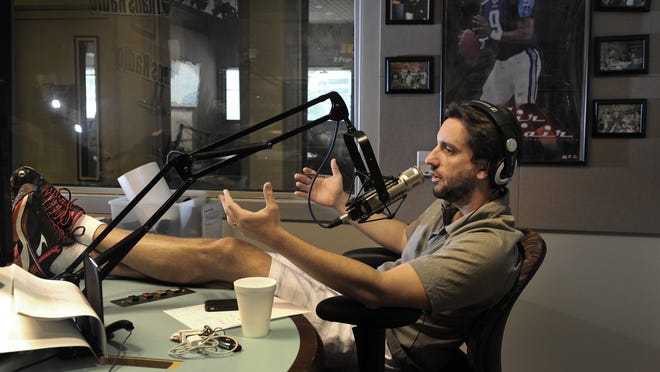 """Clay Travis is one-third of the on-air team for """"3HL,"""" the top-rated sports radio show in Nashville."""
