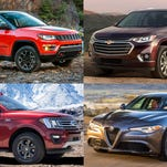 SUVs dominate semifinalists for 2018 North American car, truck, utility of the year