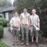 Six scouts, one troop: Newest Eagles in the nest