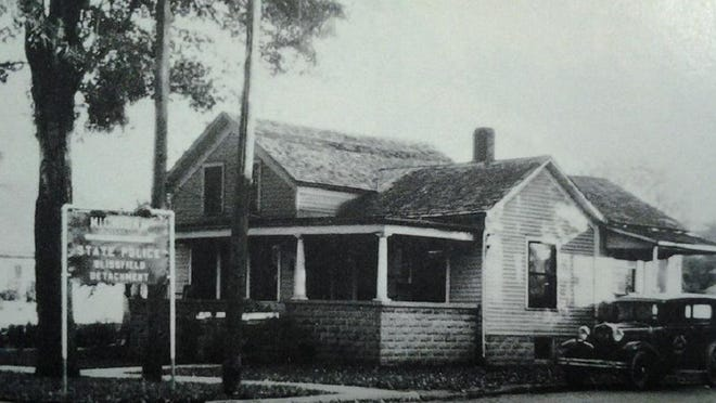 This building, located at 154 E. Adrian St., in Blissfield, served as the Blissfield Michigan State Police Post from 1931 until 1937.