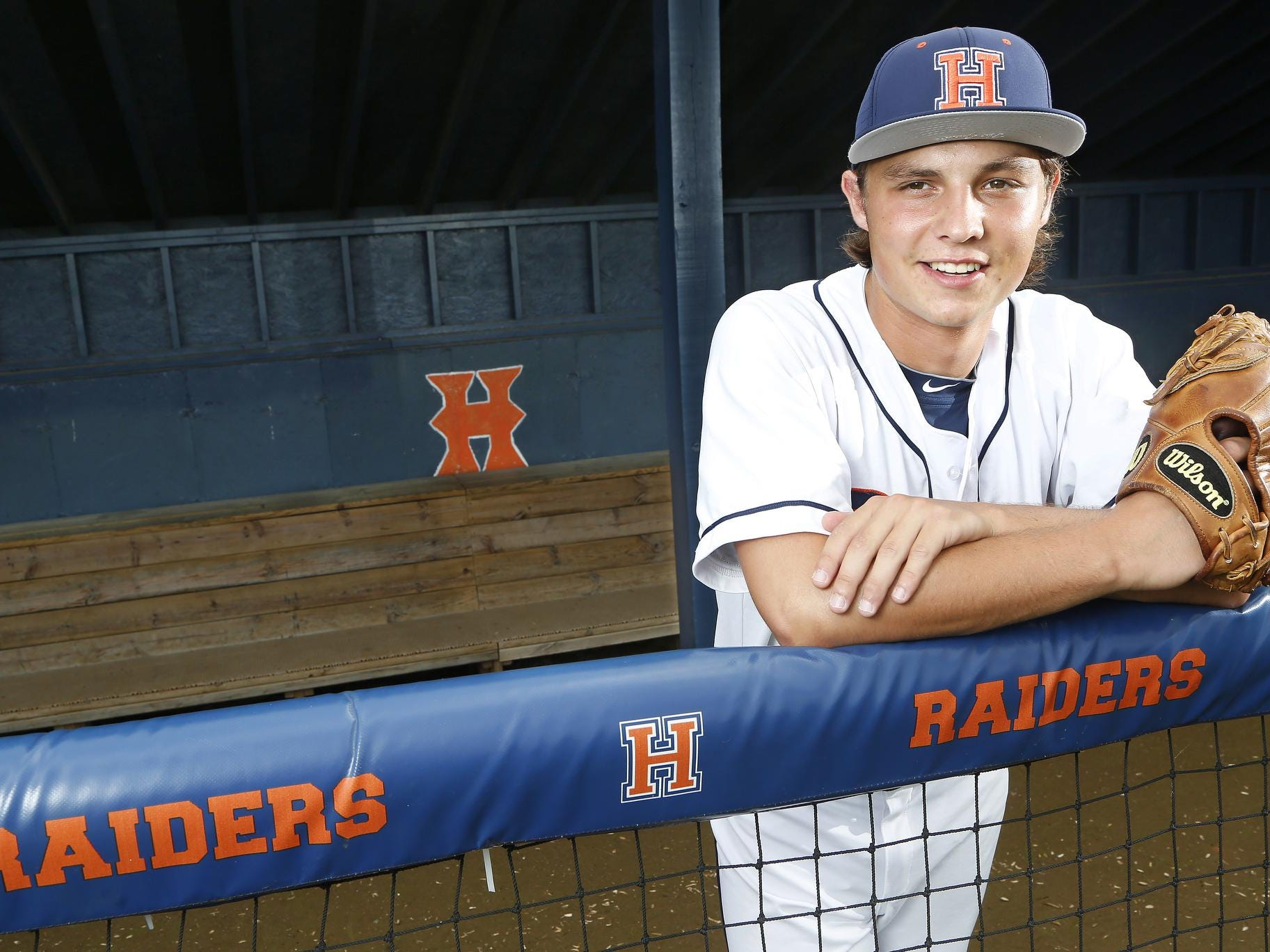 Harrison's Matt McConnell is the 2015 Journal & Courier Big School Player of the Year for baseball.