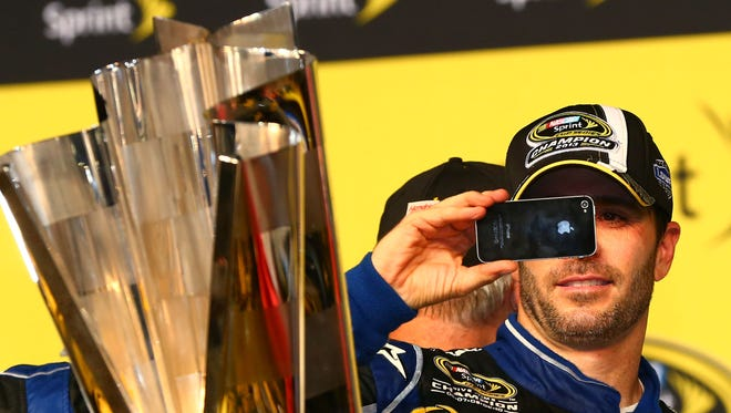 Jimmie Johnson, six-time winner of the Sprint Cup championship, said he supports changes to the playoff system.