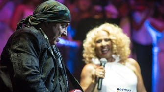 Steven Van Zandt and Darlene Love, pictured in Asbury Park in 2015.