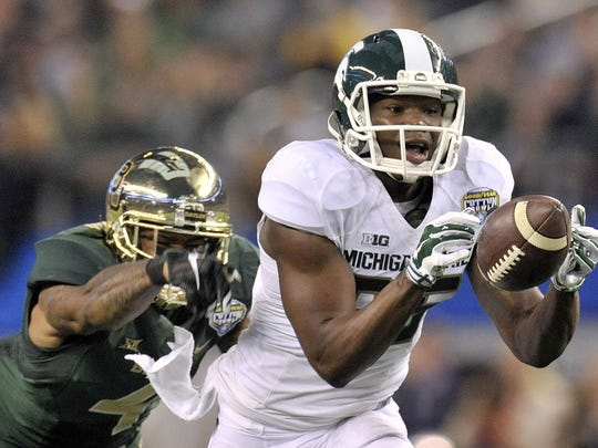 Former Michigan State wide receiver Keith Mumphery