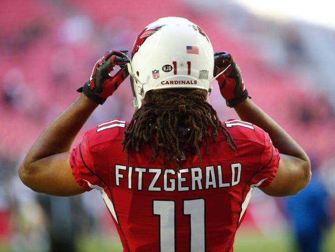 Arizona Cardinals 11 Larry Fitzgerald Field Flirt Fashion Women Jersey  22.99 Arizona Cardinals wide receiver Larry Fitzgerald gets ... c1b83b8e5
