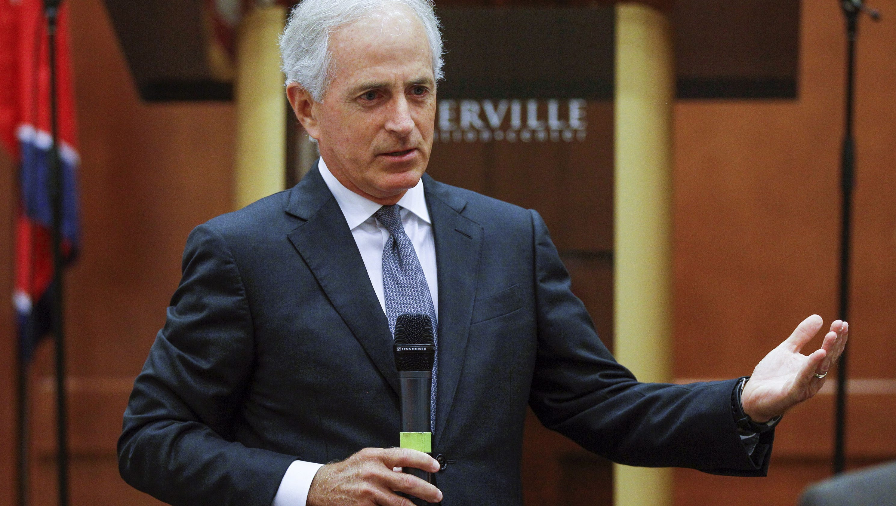 As President Trump moves to decertify Iran deal, Sen. Bob Corker outlines plan to fix it