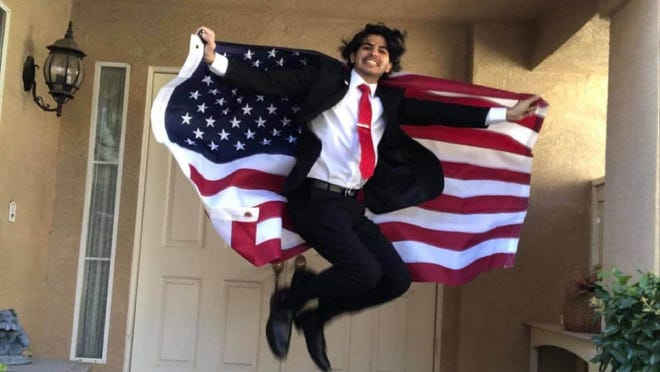 Born into a life of poverty in Morocco, medical student Nabil Assal is thankful for his newly obtained U.S. citizenship.