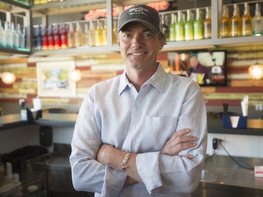 Steve Lauer is a restaurateur that has launched more than 60 restaurants in his career. His newest spot, Cabana, is set to open in May.