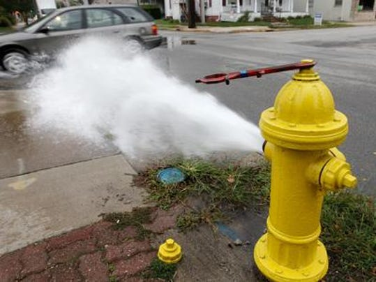 hydrant flushing (2)