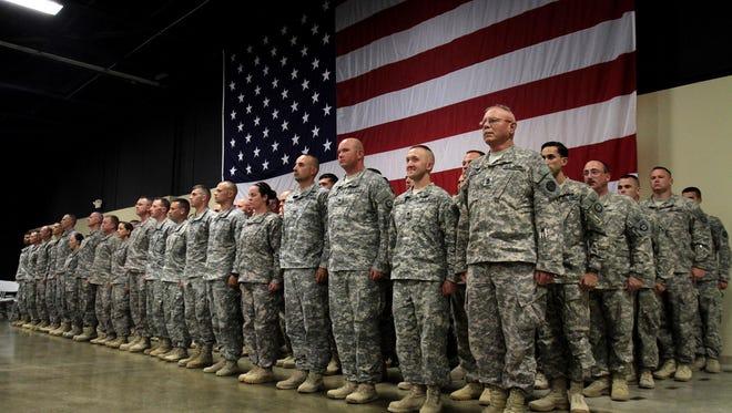 Missouri National Guardsmen