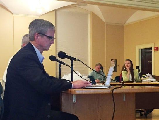 Developer Frank von Turkovitch testifies Tuesday at