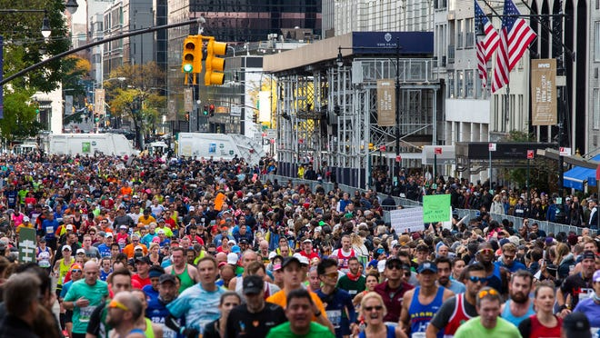 Runners won't be taking over Manhattan Nov. 1 as the 2020 New York City Marathon has been canceled.