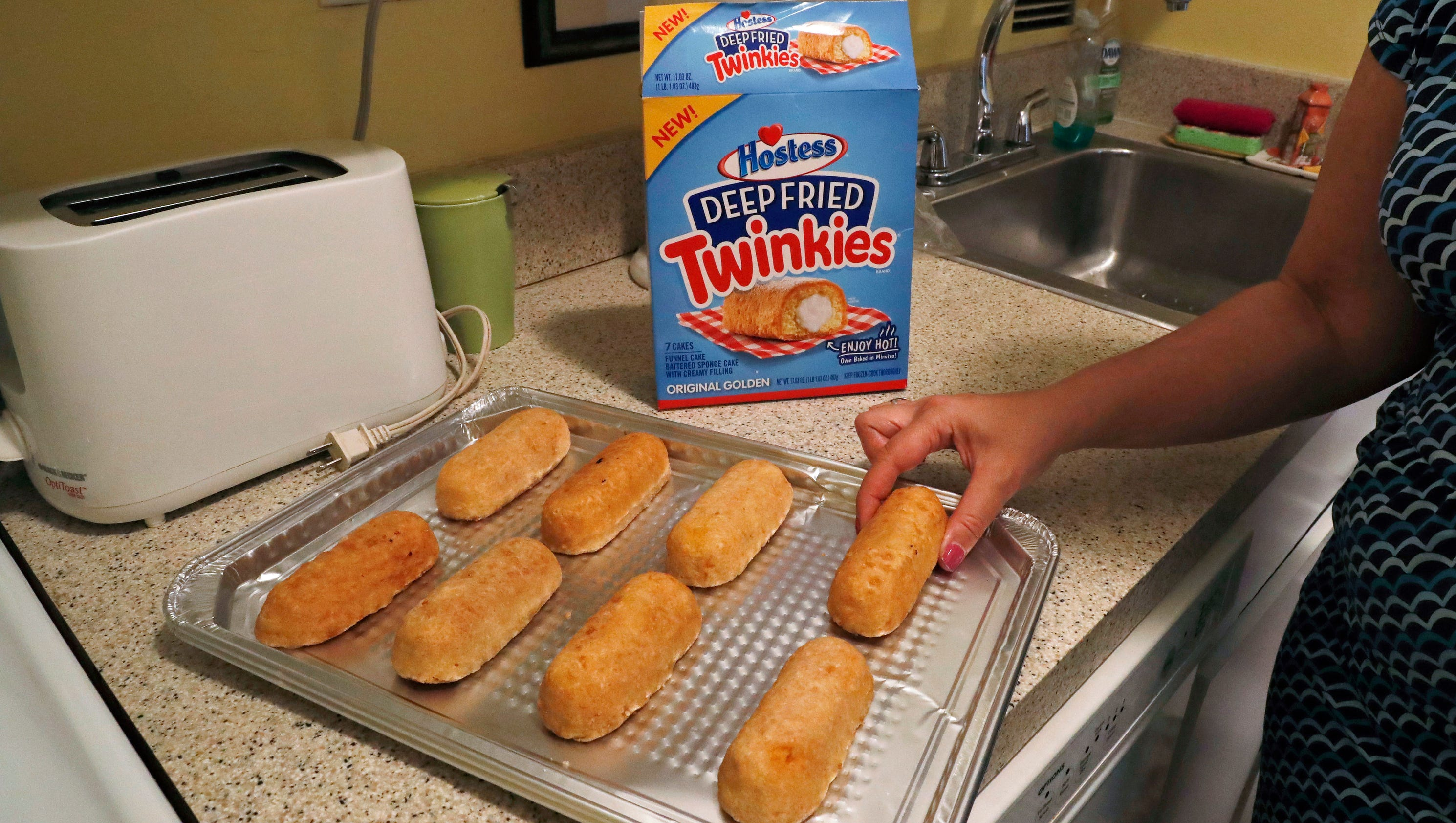 Hostess unveils Deep Fried Twinkies you can make at home