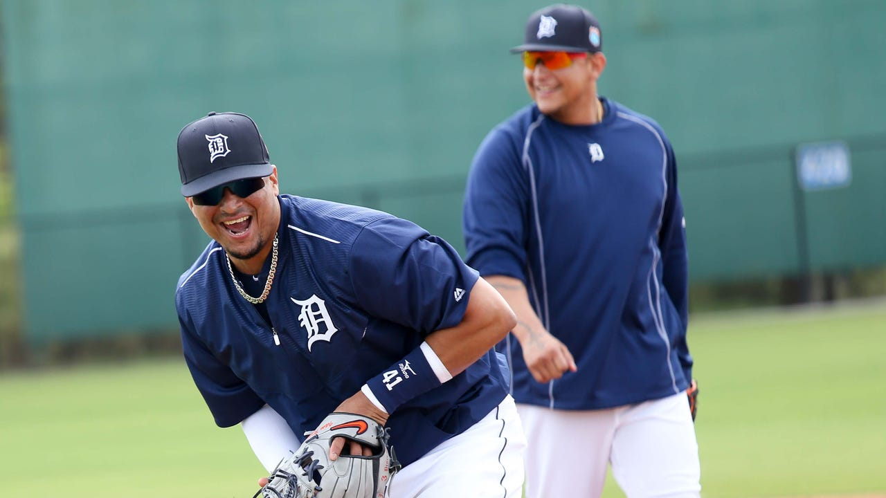 The big boys arrive at Tigers spring training
