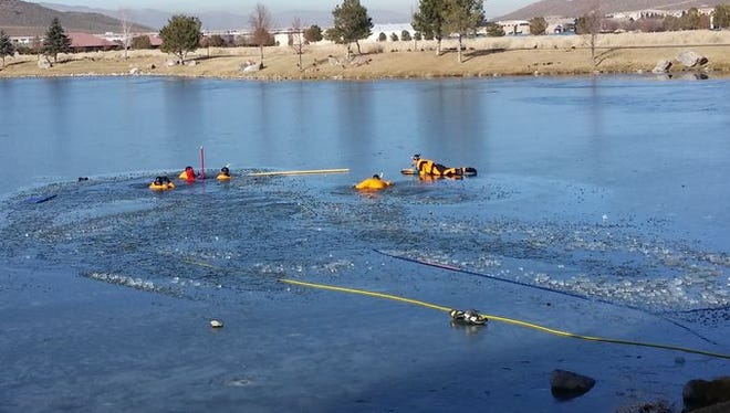 File photo shows search and rescue team on a call in south Reno