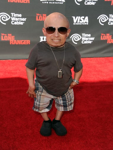 April 21, 2018: Verne Troyer, the actor best known
