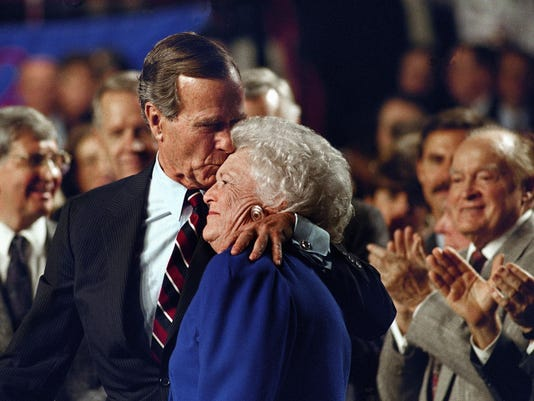 GEORGE BARBARA BUSH