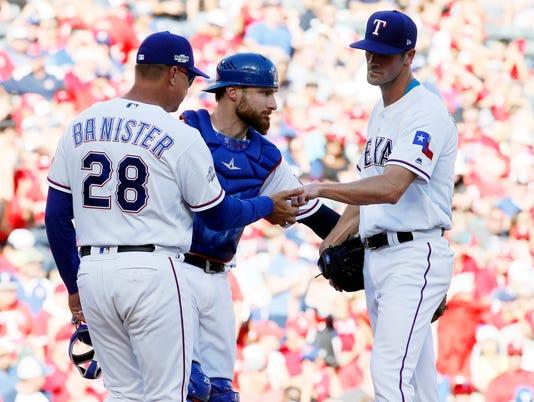 USP MLB: ALDS-TORONTO BLUE JAYS AT TEXAS RANGERS S BBA USA TX
