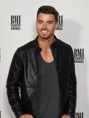 Luke Pell on the red carpet before the BMI Music Awards