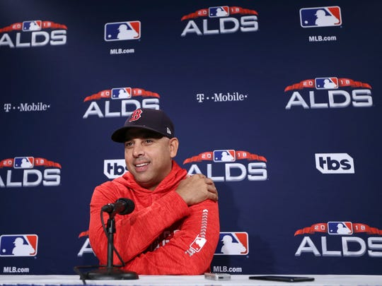 Alex Cora was fired as Red Sox manager Tuesday.