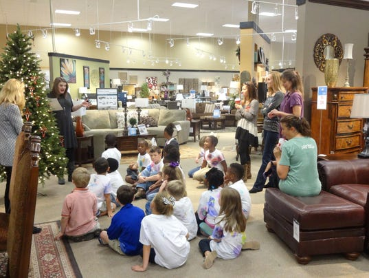 Students Ashley Furniture Team Up For Food Drive