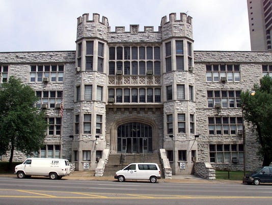 Hume-Fogg High School at 700 Broadway