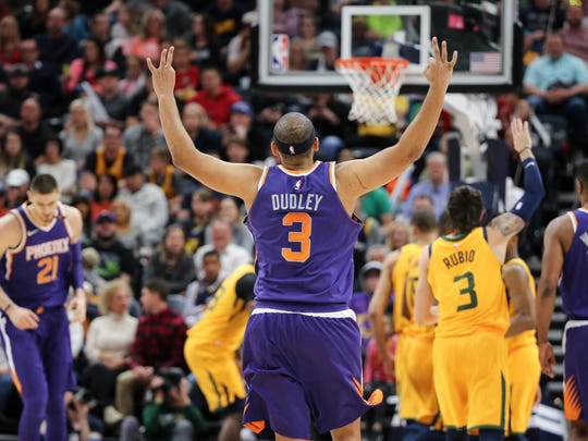 Over two stints with the Suns, spanning nearly seven full seasons, Jared Dudley averaged 8.7 points per game with 3.4 rebounds and 1.7 assists per game.