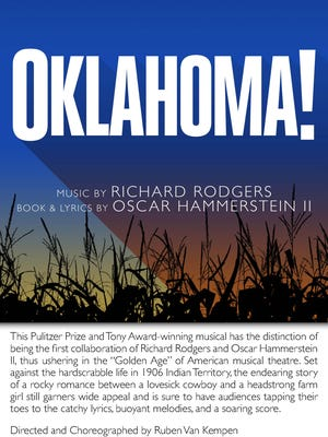"""Oklahoma!"" will open Friday at Shanklin Theatre in the next main stage production."