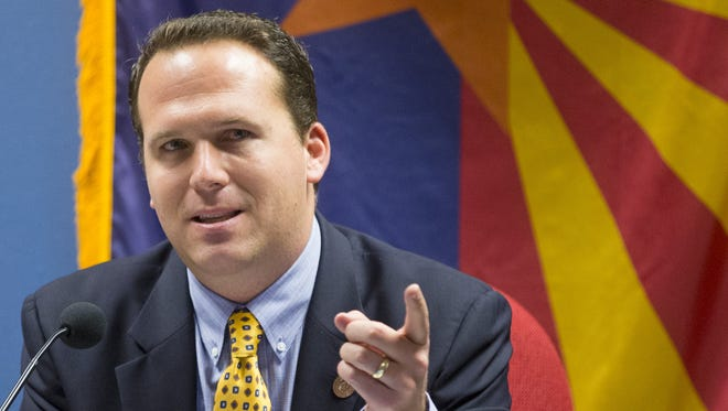 State Rep. Justin Olson, R-Mesa, chair of the House Appropriations Committee, will run for Congress in the 5th District.