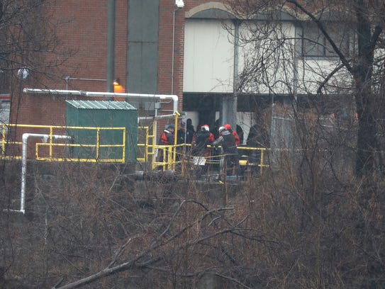 A woman was found dead in a RG&E building on Brown's