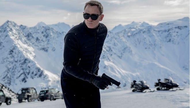 Daniel Craig is back as James Bond.
