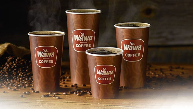 Wawa is offering free coffee Friday through Sunday at its new Newark store.