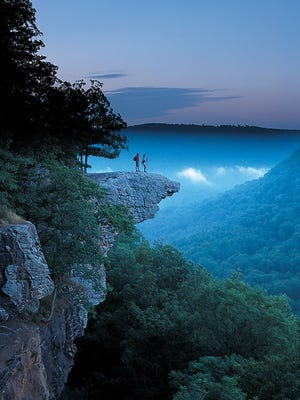 Hawksbill Crag at Whitaker Point.
