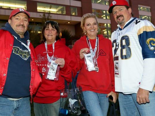 USP NFL_ Seattle Seahawks at St. Louis Rams