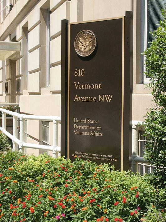 A sign at the United States Department o