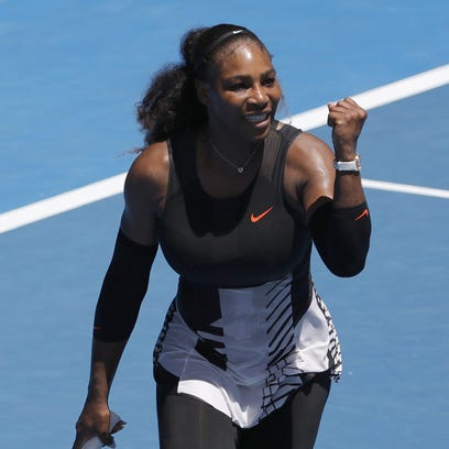 Even Serena Williams thinks her run to Aussie quarters is 'impressive'