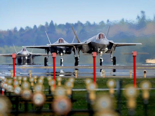 F-35A arrives at Lakenheath
