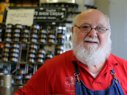 Joe Montedoro bought into the Shrewsbury Cobbler Shop in 1986.