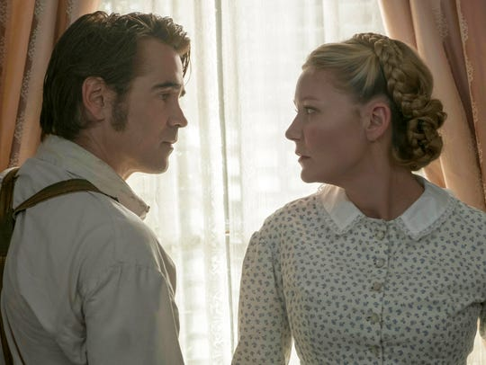 Colin Farrell's soldier romances Kirsten Dunst in 'The