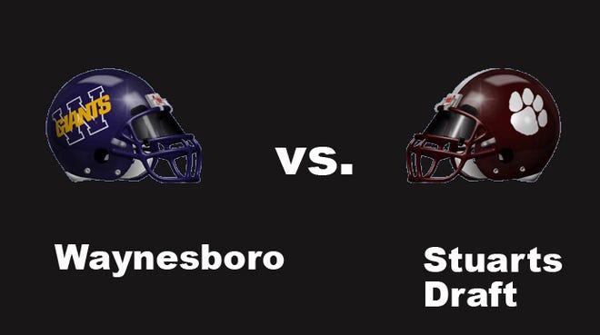 Waynesboro vs Stuarts Draft football