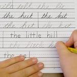 Ohio students could learn cursive handwriting again