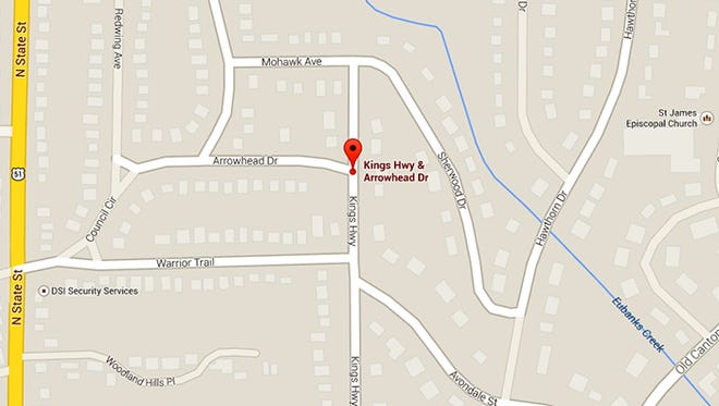 A woman says a man tried to force his way into her vehicle Wednesday morning in north Jackson.