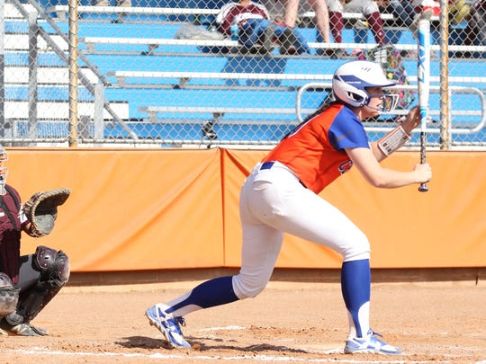 San Angelo Central High School's Emily Sanchez is shown in a file photo.