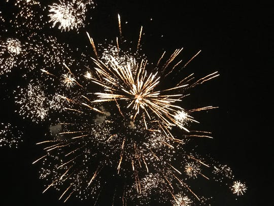 El Pasoans are encouraged to watch a professional fireworks show on the Fourth of July instead of popping their own.