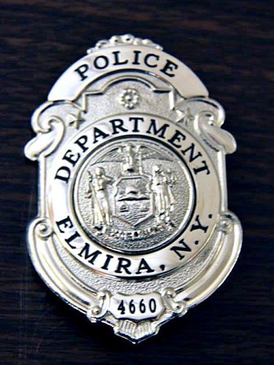 ELM 0928 POLICE BADGE
