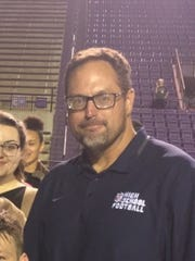 North Caddo football coach and athletic director Johnny Kavanaugh.