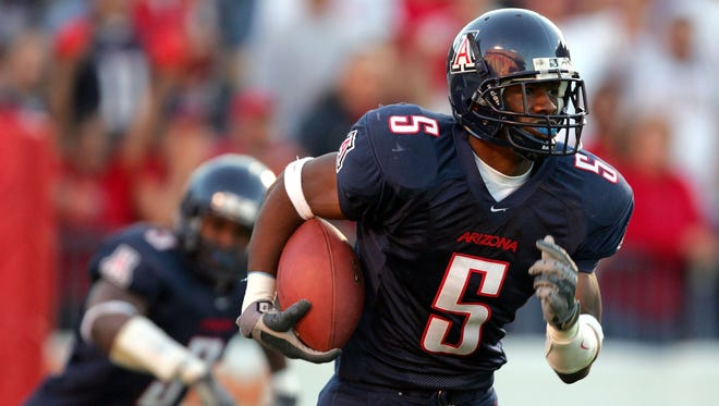 Antoine Cason of the Arizona Wildcats in a 2004 game. Cason was the last first-round pick from Arizona.