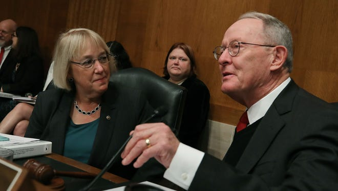 Sens. Patty Murray, D-Wash., and Lamar Alexander, R-Tenn.