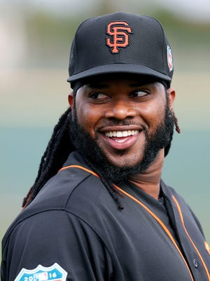 """""""That's how I enjoy the game,"""" says Johnny Cueto, """"being relaxed on the mound, but respecting your job."""""""