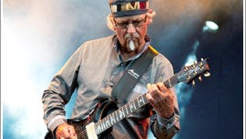 Former Jethro Tull guitarist Martin Barre plays two nights at Lovin' Cup Bistro & Brews, Sept. 13 and Sept. 14.